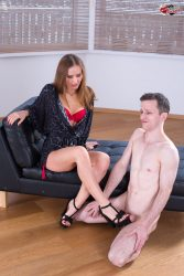 Forced bi femdom cuckold for this pathetic husband from submissive cuckolds