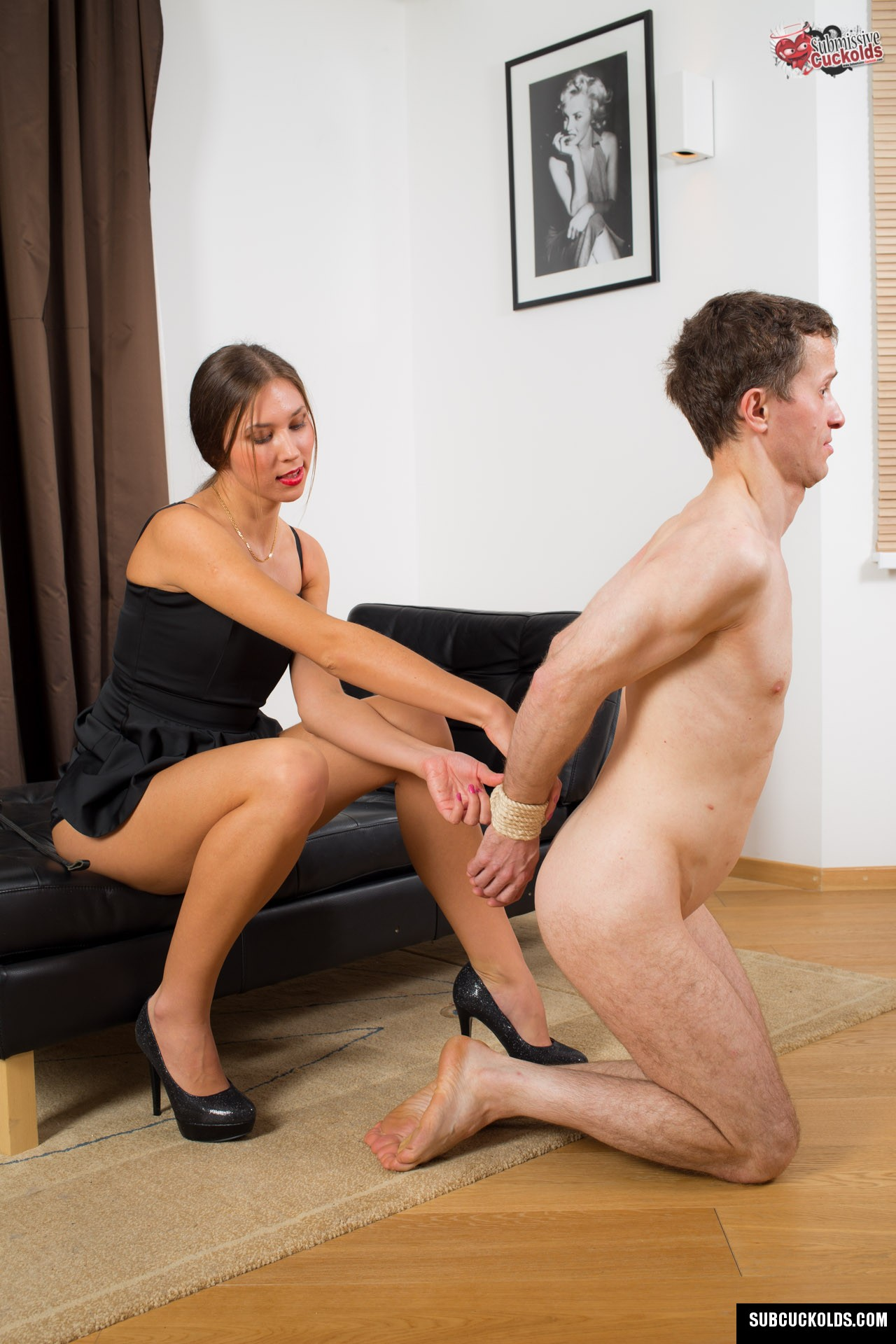 Make him cuckold cuckolded like a total loser 8