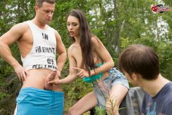 Cuckolding in the woods   Submissive Cuckolds gallery from submissive cuckolds