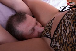 Fantastic oral sex threesome for this cuckold couple from submissive cuckolds